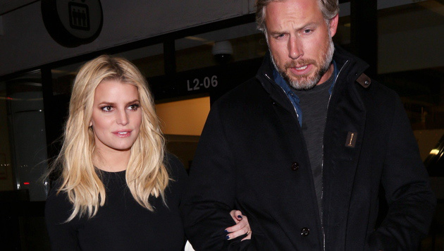 Jessica Simpson und Eric Johnson (Bild: Viennareport)