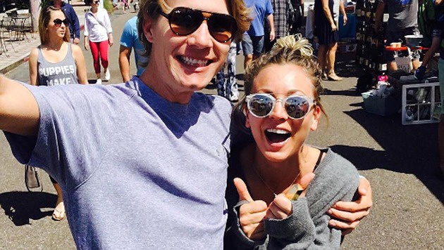 Kaley Cuoco und Karl Cook (Bild: instagram.com/normancook)
