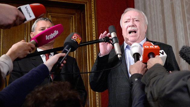 Michael Häupl soll jetzt in der SPÖ aufräumen (Bild: APA/Hans Klaus Techt)