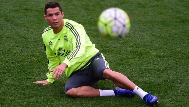 Ronaldo trainiert vor CL-Halbfinale wieder voll! (Bild: APA/AFP/PIERRE-PHILIPPE MARCOU)