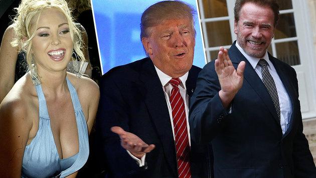 """US-Pornostar: """"Ich will Vizepräsidentin werden!"""" (Bild: AP, EPA, APA/AFP/THOMAS SAMSON)"""