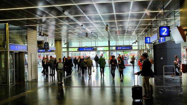 """""""City4U unterwegs am """"Bahnhof der Kriminellen"""" (Bild: Zet)"""""""