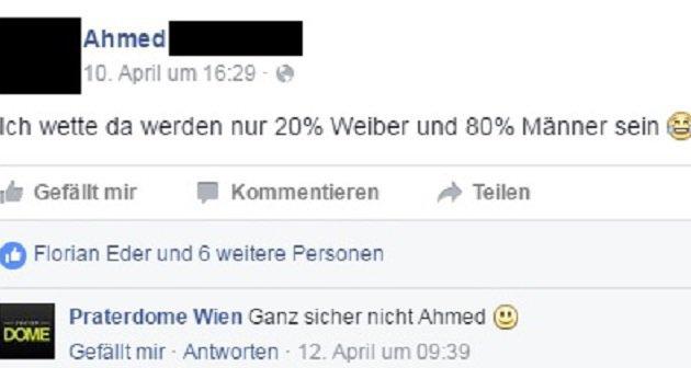 """""""""""Ich traf beim Speeddating meinen Traumtyp"""" (Bild: facebook.com/events)"""""""