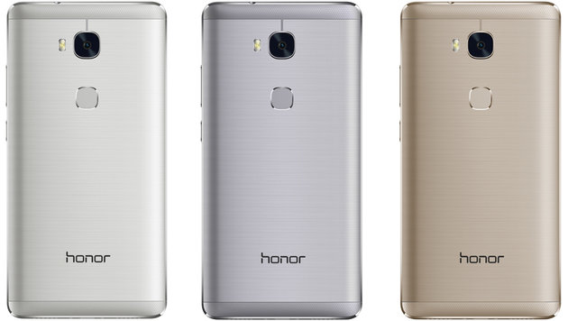Huawei Honor 5X: Full-HD-Smartphone für 229 Euro (Bild: Honor)