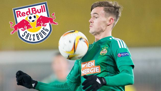Deal fix! Stangl wechselt von Rapid zu Salzburg (Bild: APA/GEORG HOCHMUTH, Red Bull Salzburg)