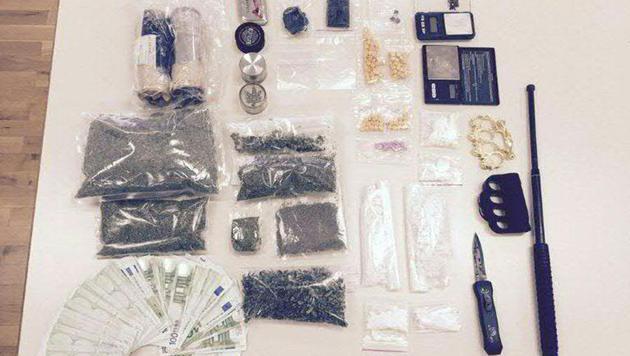 Drogenbande aufgeflogen:  Acht Steirer in Haft (Bild: APA/POLIZEI)