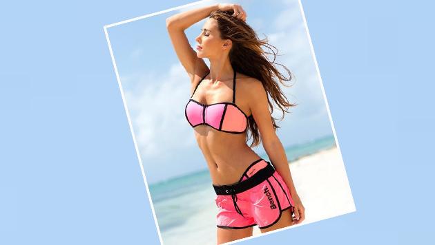 Ann-Kathrin Brömmel, Herzdame von Mario Götze, ist schon fit für den Sommer. (Bild: Instagram)