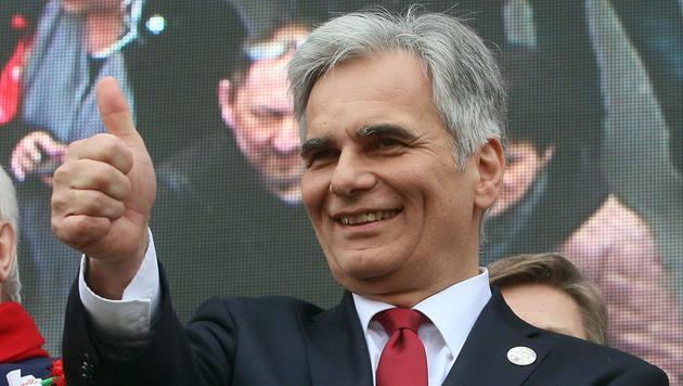 Ex-Bundeskanzler Werner Faymann (Bild: AP)