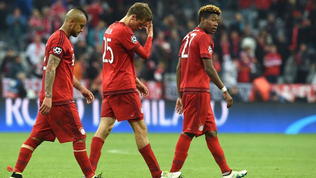 Pep Guardiola: Wutausbruch in der Bayern-Kabine (Bild: APA/AFP/CHRISTOF STACHE)