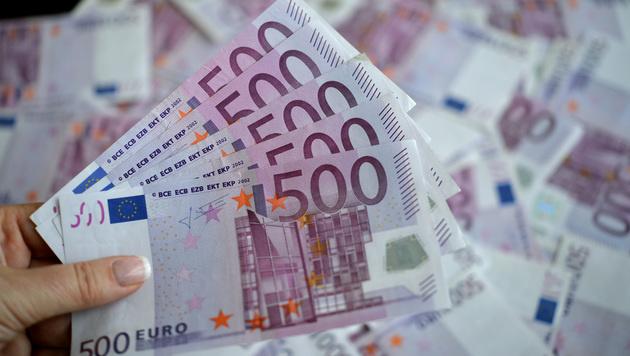 500-Euro-Schein wird Ende 2018 eingezogen (Bild: APA/Barbara Gindl)