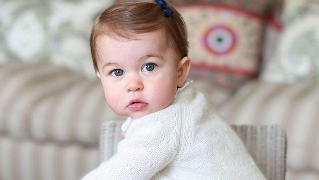 Prinzessin Charlotte (Bild: APA/AFP/KENSINGTON PALACE/THE DUCHESS OF CAMBRIDGE)