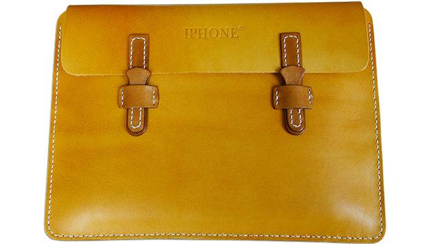 Chinesische Firma darf Lederwaren iPhone nennen (Bild: Xintong Tiandi)
