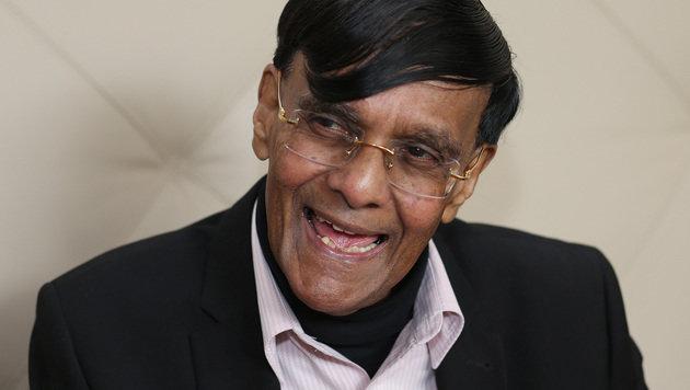 """Der """"Papst der Nachhaltigkeit"""", Friedensnobelpreisträger Mohan Munasinghe (Bild: Zwefo)"""