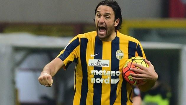 Luca Toni beendet seine Karriere (Bild: APA/AFP/JOHN MACDOUGALL)