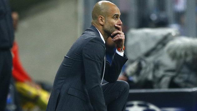 """Pep Guardiola: """"Bayern hat eine große Zukunft!"""" (Bild: AP)"""