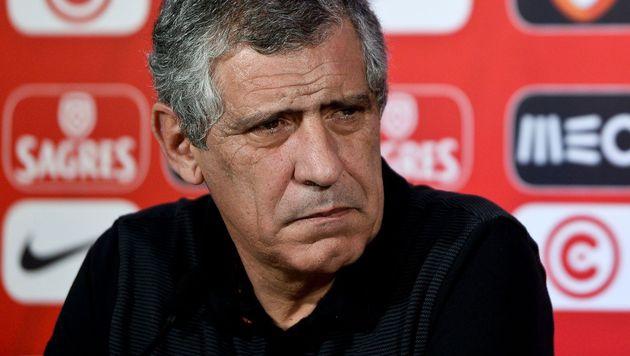 Portugals Teamchef gibt Titel als EM-Ziel aus (Bild: APA/AFP/PATRICIA DE MELO MOREIRA)