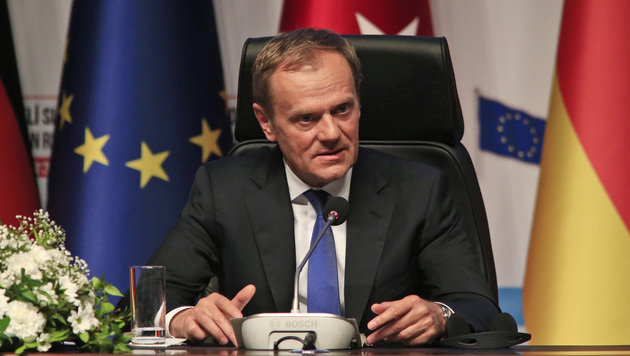 EU-Ratspräsident Donald Tusk (Bild: Associated Press)