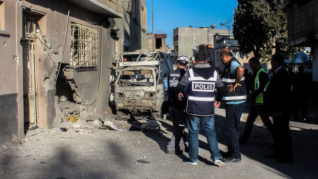 Syrien: Tote nach Angriff auf Flüchtlingslager (Bild: AFP)