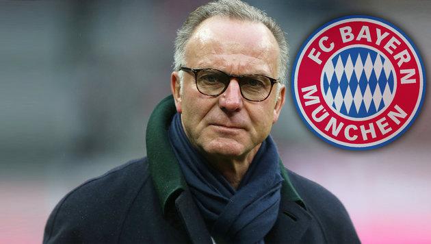 Bayern-Boss vermutet Schiedsrichter-Betrug (Bild: GEPA)