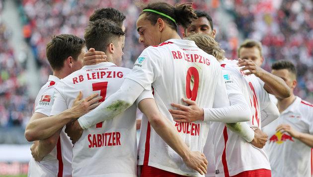"""Bei RB Leipzig """"wird über jeden Euro diskutiert"""" (Bild: GEPA)"""