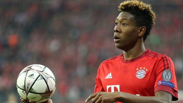 David Alaba in Champions-League-Elf der Runde (Bild: GEPA)