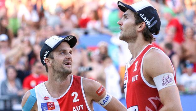 Huber/Seidl souverän im Sotschi-Achtelfinale (Bild: GEPA)