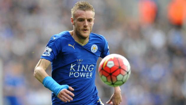 Leicester: Jamie Vardy kam betrunken zum Training (Bild: AP)