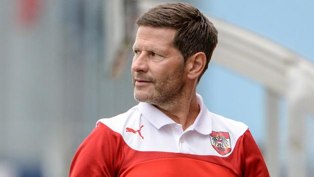 Trainer Andreas Heraf (Bild: GEPA)