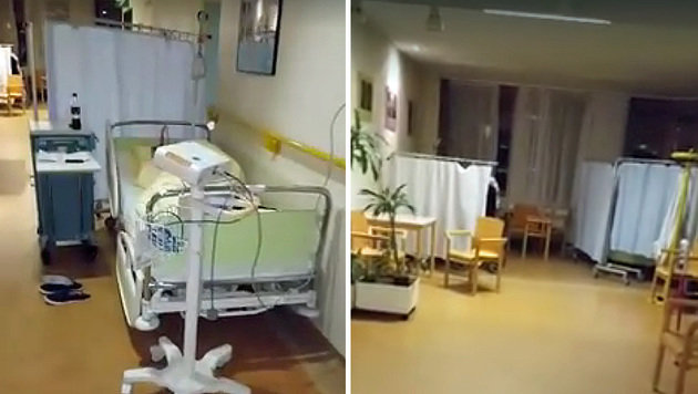 Patientin schildert Horrornacht in Wiener Spital (Bild: Screenshot Elisabeth K.)