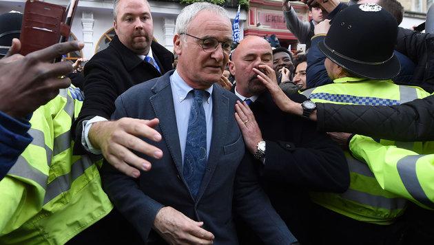 """Ranieri will """"keine großen Namen"""" bei Leicester (Bild: ASSOCIATED PRESS)"""