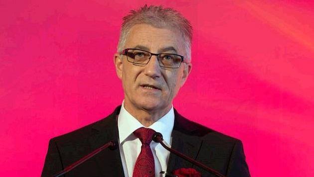 """Salzburgs SPÖ-Chef Steidl führt Kritiker an: """"Die Fundamente der SPÖ müssen erneuert werden."""" (Bild: Franz Neumayr/MMV)"""