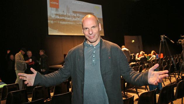 Yanis Varoufakis (Bild: Peter Tomschi)