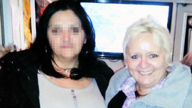 Musste den Eisenstangen-Mord an Maria (rechts) mit ansehen: Arbeitskollegin Gorica (li.) (Bild: Erwin Jannes)