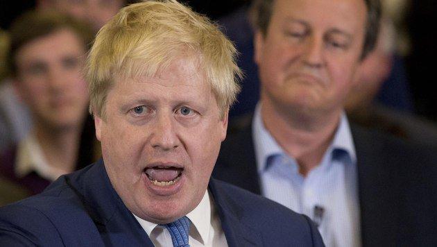 Um seine Nachfolge geht es: Londons Noch-Bürgermeister Boris Johnson (Bild: ASSOCIATED PRESS)