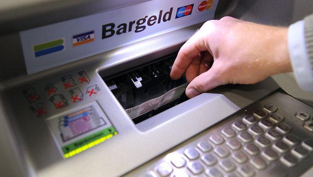 Bankomaten streikten in weiten Teilen Österreichs (Bild: APA/BARBARA GINDL)