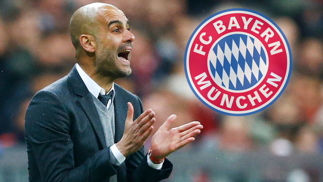 Pep Guardiola: Wutausbruch in der Bayern-Kabine (Bild: AP)