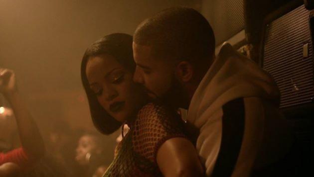 """Rihanna und Drake im Video zu """"Work"""" (Bild: Viennareport)"""