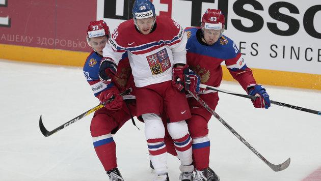 Russland startet mit Niederlage - Kanada gewinnt (Bild: AP)