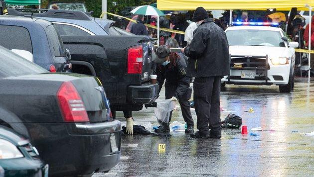 USA: Tote bei drei Schussattacken in Washington (Bild: AFP)