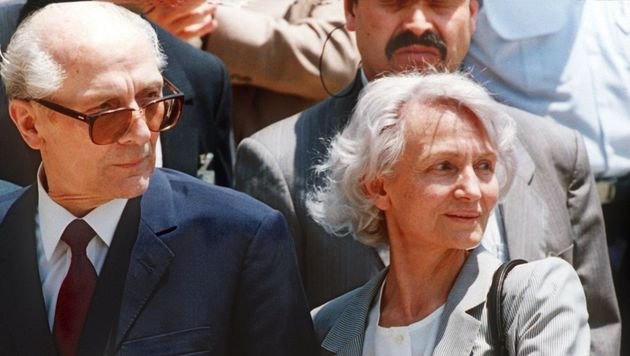 Erich und Margot Honecker (Bild: dpa)