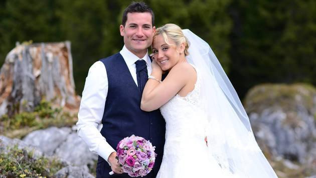 Michi Kirchgasser hat geheiratet! (Bild: Jacqueline Korber)