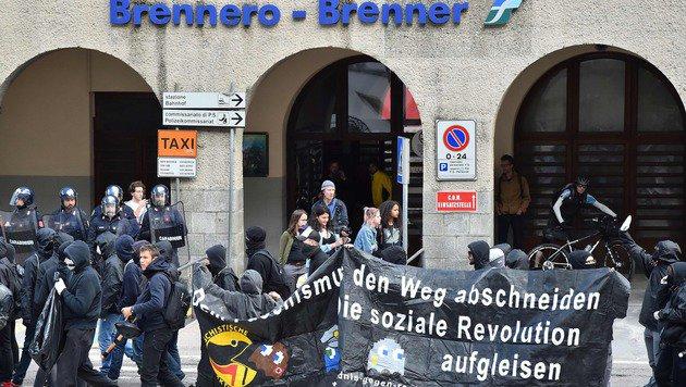 """Fischer: """"Keine Schließung der Brenner-Achse"""" (Bild: AFP)"""