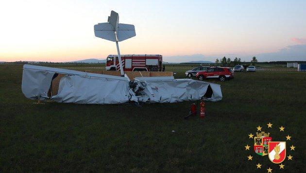 Flugzeugabsturz in NÖ: Beide Opfer identifiziert (Bild: PRESSETEAM DER FEUERWEHR WIENER NEUSTADT)