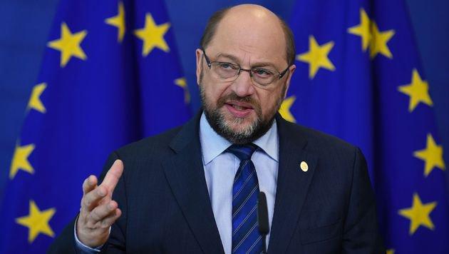 EU-Parlamentspräsident Martin Schulz (Bild: APA/AFP/JOHN THYS)