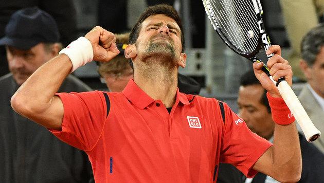 Novak Djokovic (Bild: APA/AFP/GERARD JULIEN)