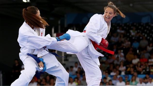 Karate-Ass Alisa Buchinger erobert EM-Silber (Bild: GEPA)