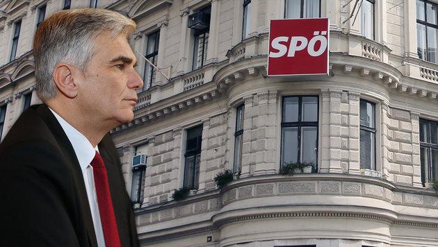 Sieger oder Verlierer? Wie wird Kanzler Werner Faymann die SPÖ-Vorstandssitzung am Montag verlassen? (Bild: Peter Tomschi)