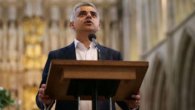 """London: Khan wirft Konservativen """"Trump-Stil"""" vor (Bild: AFP)"""