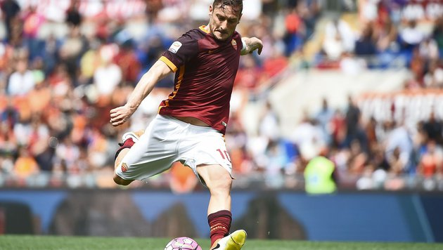 AS Roma-Legende Francesco Totti machte 600. Spiel (Bild: AFP or licensors)