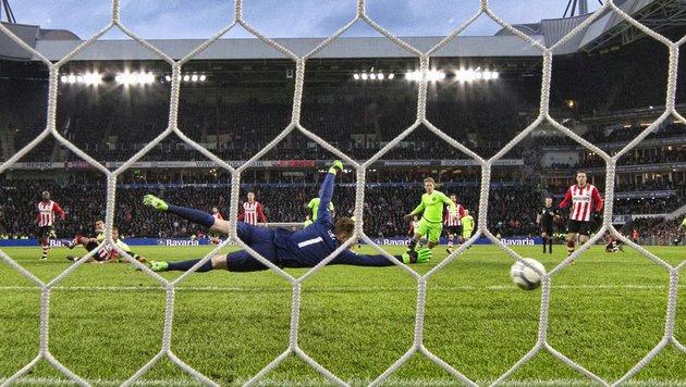 Ajax patzte - und PSV Eindhoven wird Meister! (Bild: APA/AFP/ANP/STRINGER)